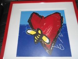 St. Valentin. Coeur de l'artiste HERMAN BROOD